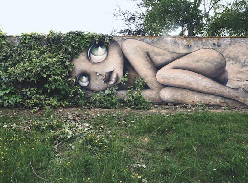 Street art Magnac / Vinie Graffiti