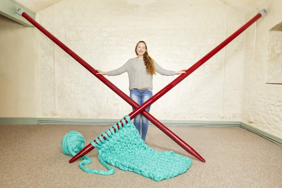 Les plus grandes aiguilles à tricoter