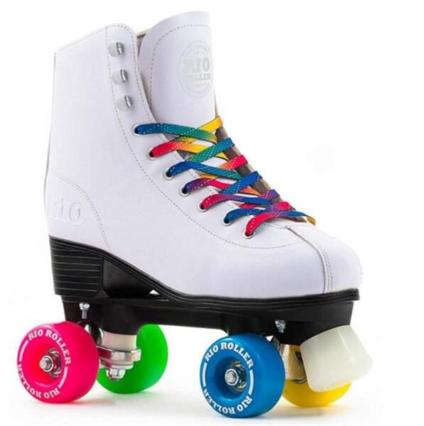 Des rollers multicolores