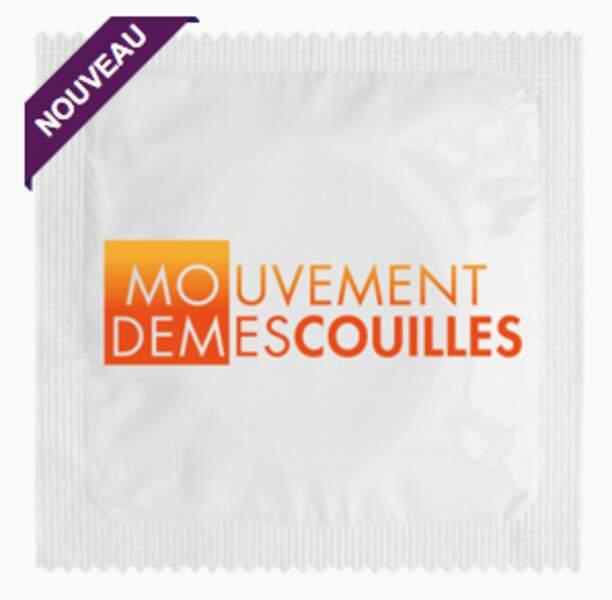 """Le préservatif """"Mouvement de mes couilles"""""""