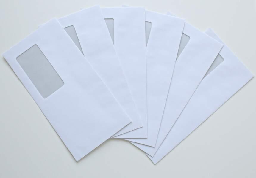 S'organiser avec des enveloppes