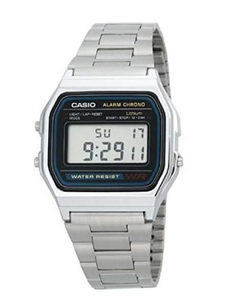 Une montre Casio