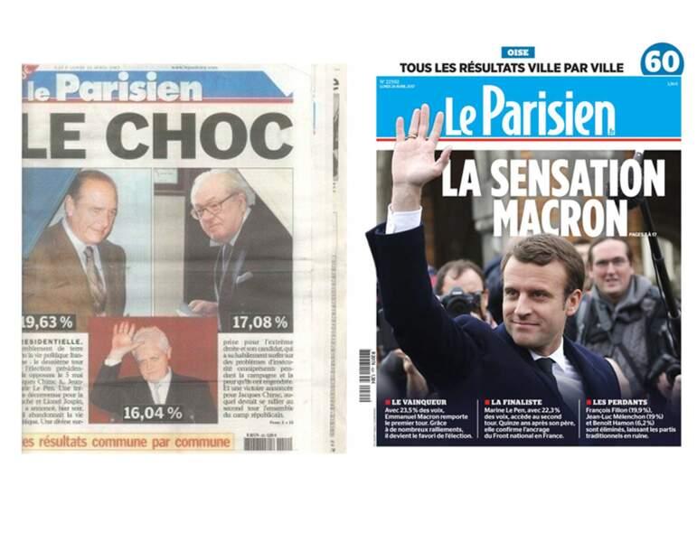 """Le Parisien : """"Choc"""" ou """"sensation"""" ?"""