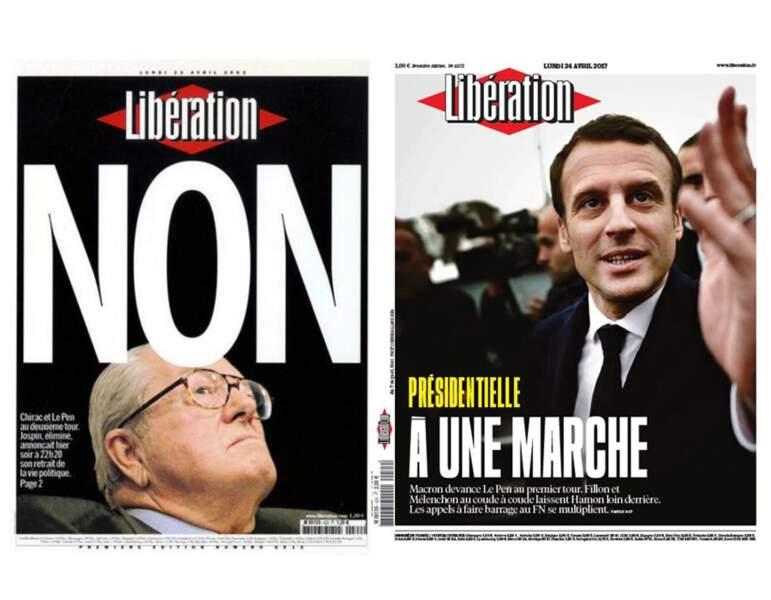 """Libération : du """"Non"""" au """"En marche"""""""