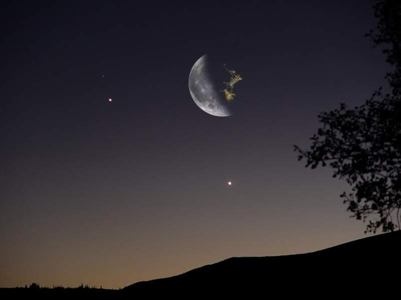 Dans le futur, la Lune ressemblera peut-être à ça...
