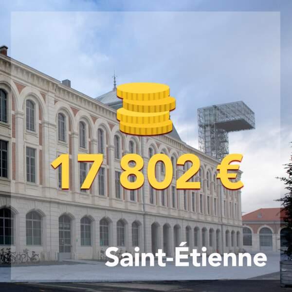 18 • Saint-Étienne