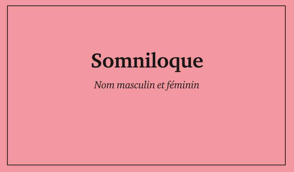 Somniloque