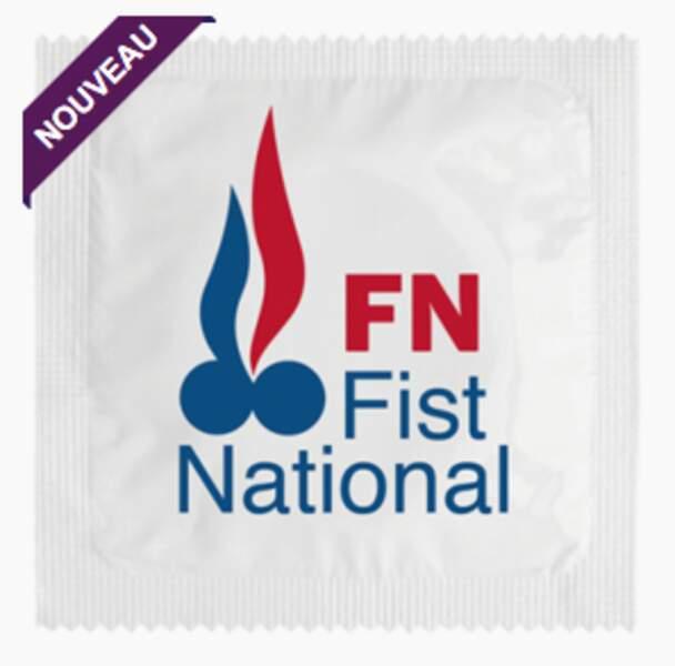 """Le préservatif """"Fist National"""""""