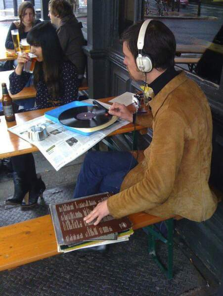 Un hipster dans toute sa splendeur