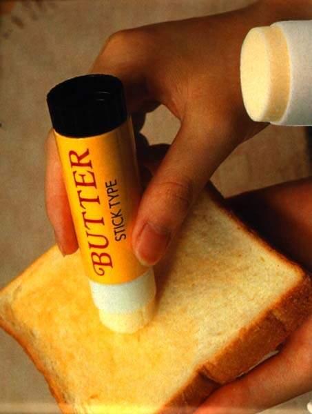 Le tube de beurre pour ne plus jamais avoir à salir de couteaux