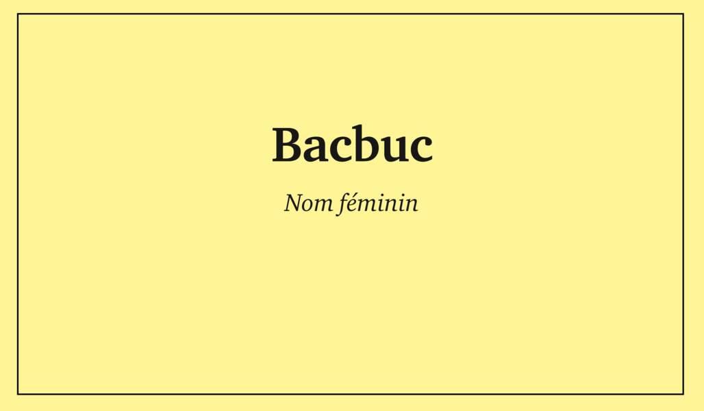 Bacbuc