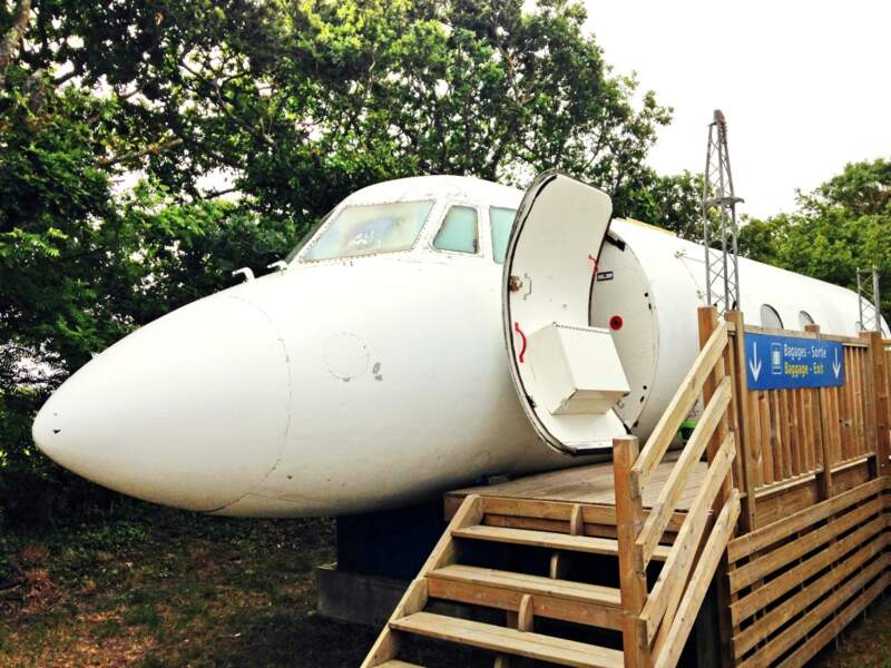 3 Un avion avec toilettes dans le cockpit