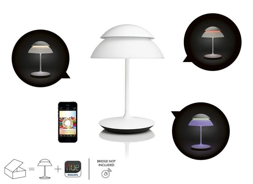 Une lampe intelligente de chez Philips