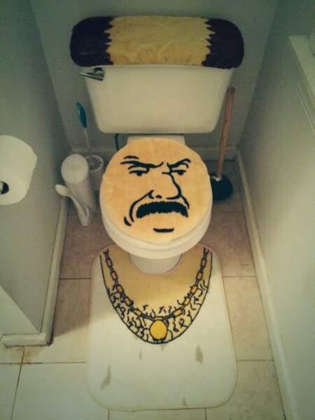 Toilettes customisés