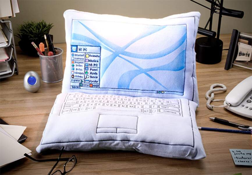 L'ordi douillet (Laptop Pillow)