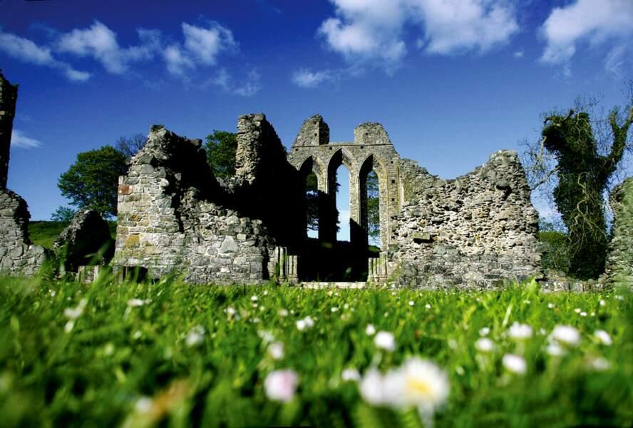 Inch Abbey en Irlande du Nord