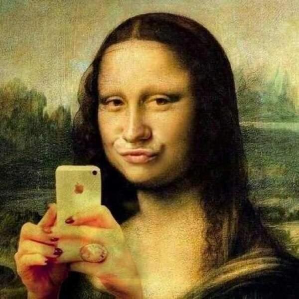 Mona Lisa se fait chier...