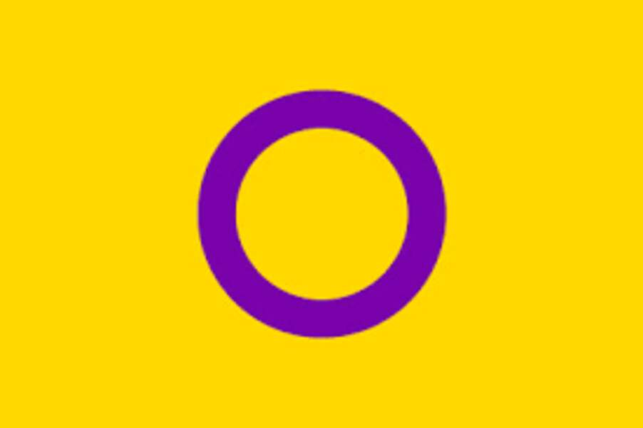 Le drapeau intersexe