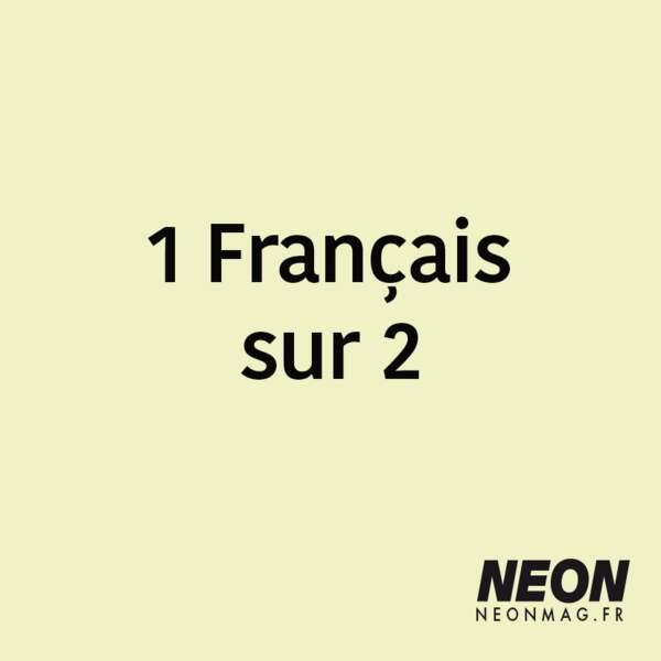1 Français sur 2