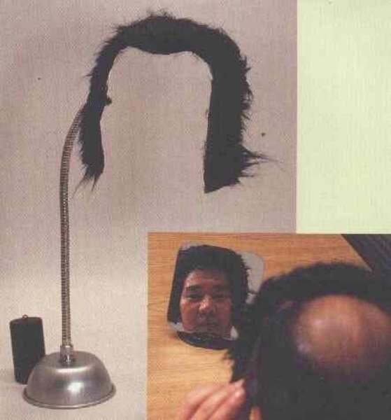 La moumoute qui permet d'avoir toujours l'air beau dans le miroir