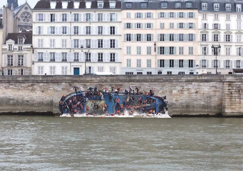 Le Radeau de Lampéduse / Pierre Delavie