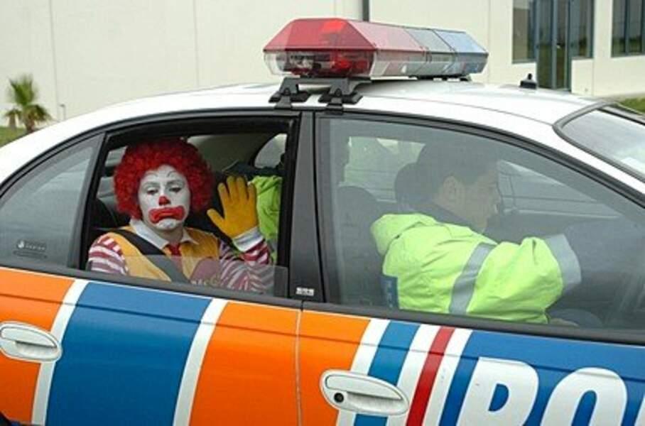Ronald est dans de beaux draps