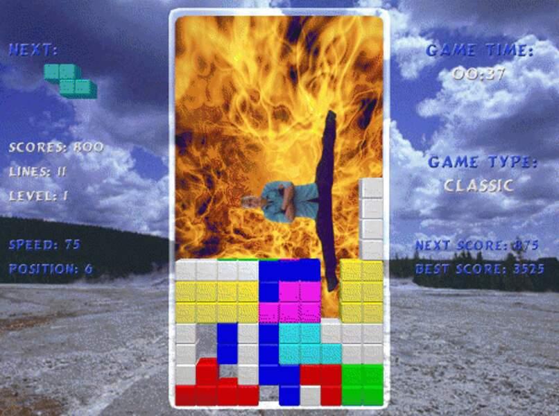 Pour pimenter le Tetris