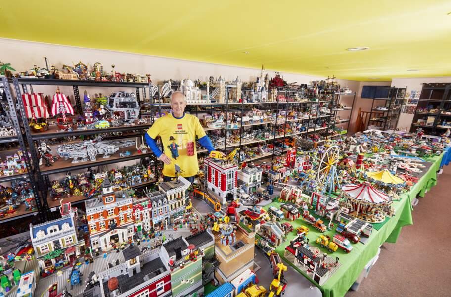 La plus grande collection de boîtes LEGO