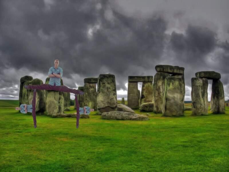 Pour imiter les dolmens de Stonehenge