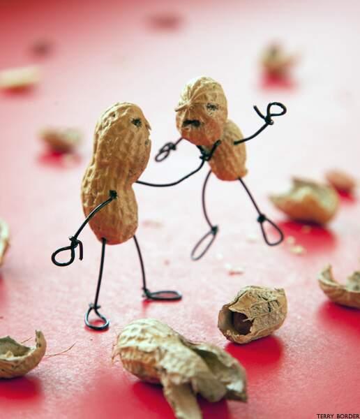 Casse-tête entre cacahuètes
