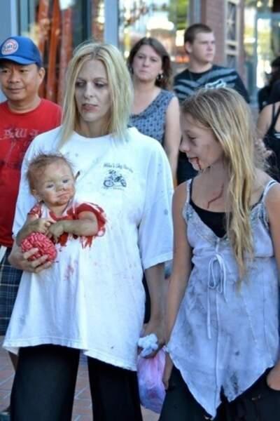 Bébé zombie