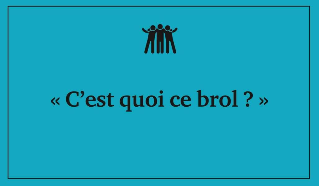 Brol = bazar