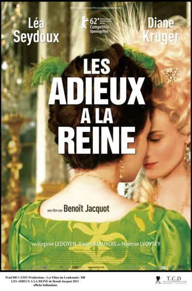 Les Adieux à la reine de Benoît Jacquot