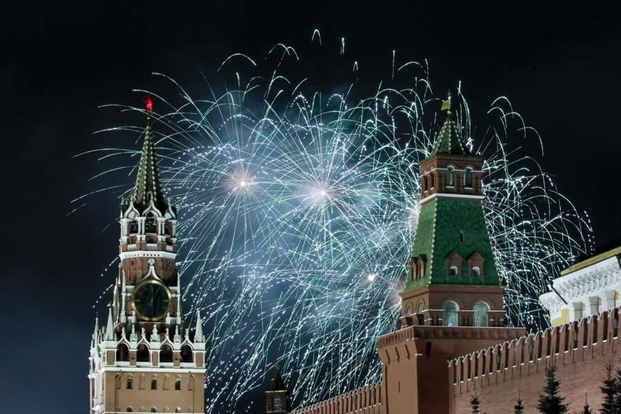 Le nouvel an à Moscou