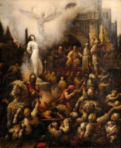 9 janvier 1431 : procès de Jeanne d'Arc. Prise au piège des Anglais