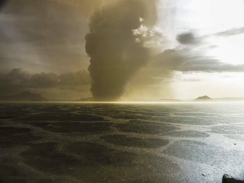 """Un volcan situé sur la """"Ceinture de feu du Pacifique"""""""