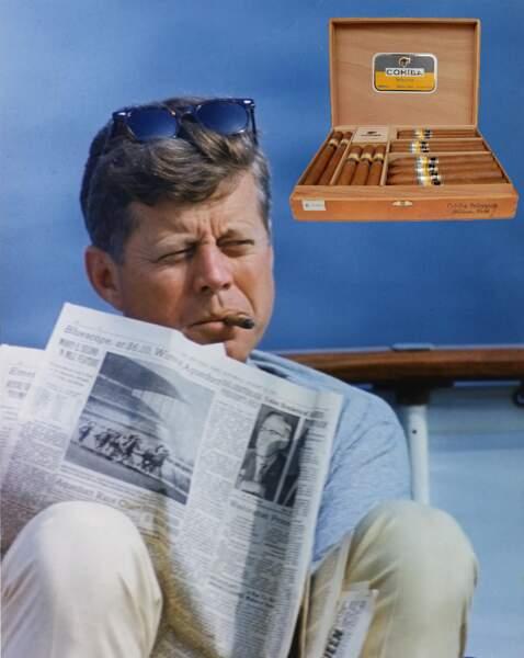 Les cigares de la paix envoyés à Kennedy