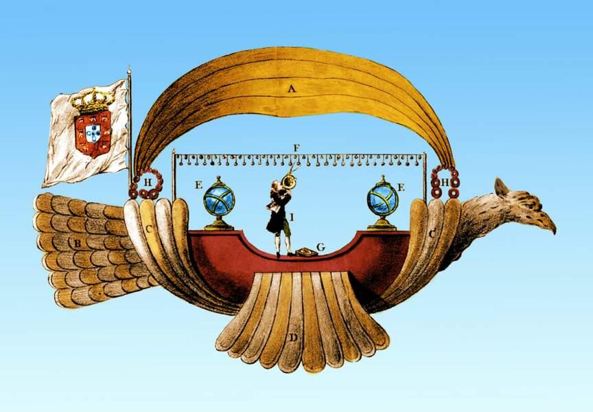 1709 : la barque céleste d'un prêtre brésilien