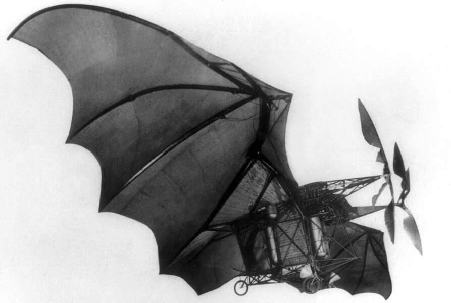 1890 : l'avion d'Ader