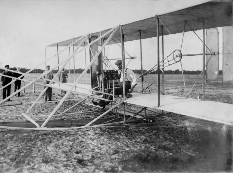 1903 : le biplan des frères Wright