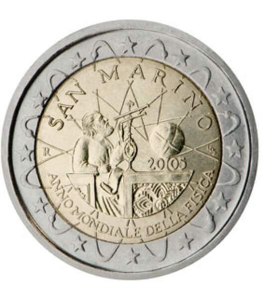 Les deux euros de San Marin