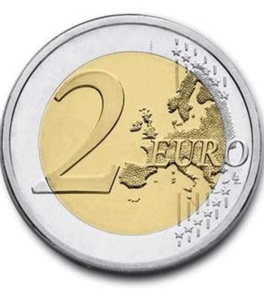 Les deux euros allemands 2008