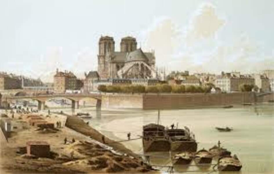 En 1830, la première tournée