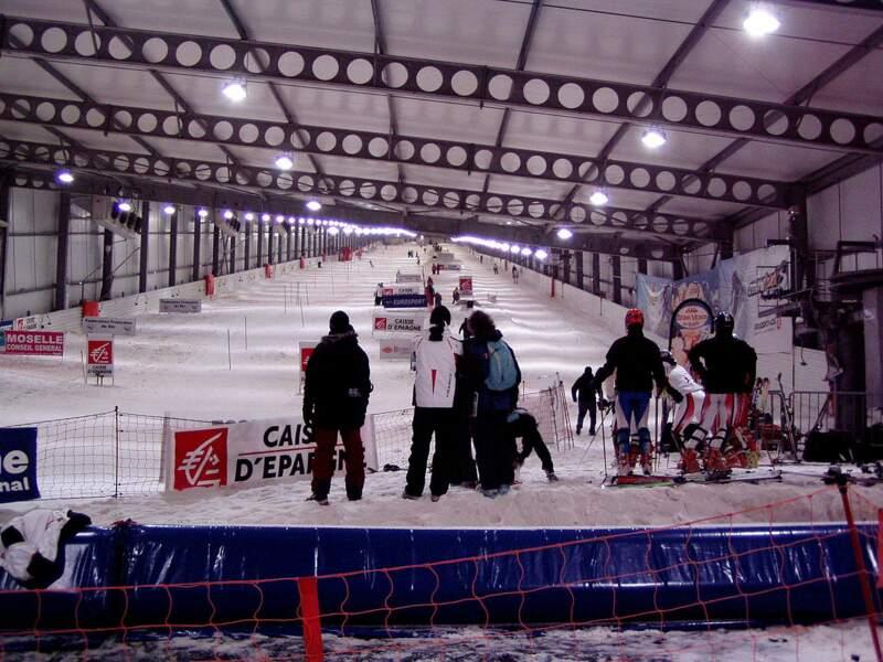 2005, le Snowhall d'Amnéville