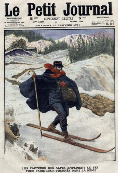 1800, le ski utile