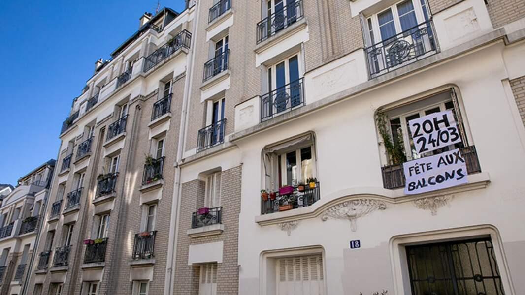 Soutien aux soignants à Paris