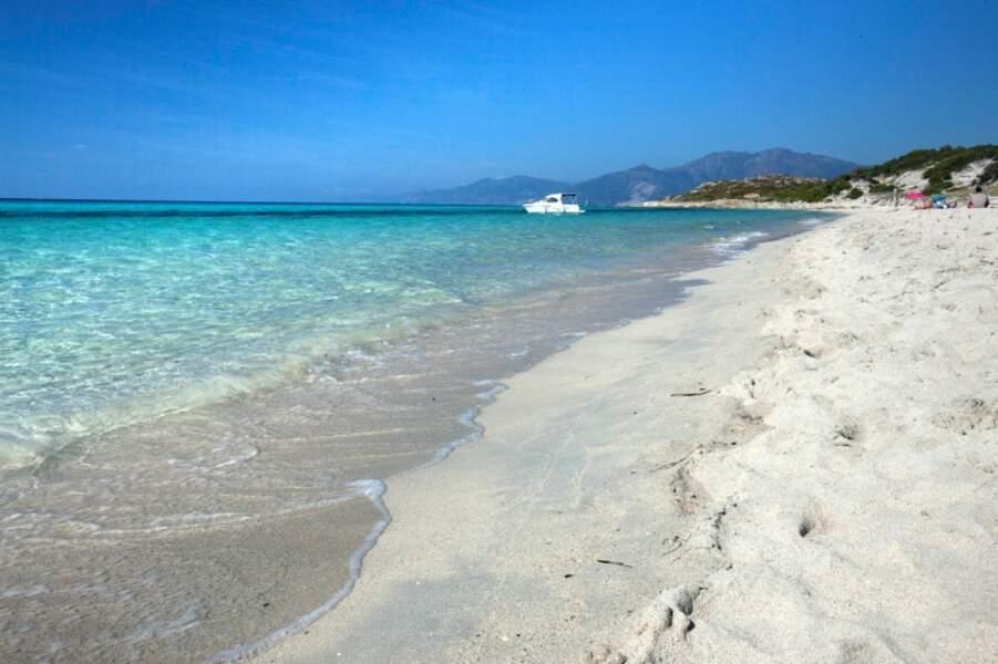 Plage dans le désert des Agriates, golfe de Saint-Florent, Haute Corse
