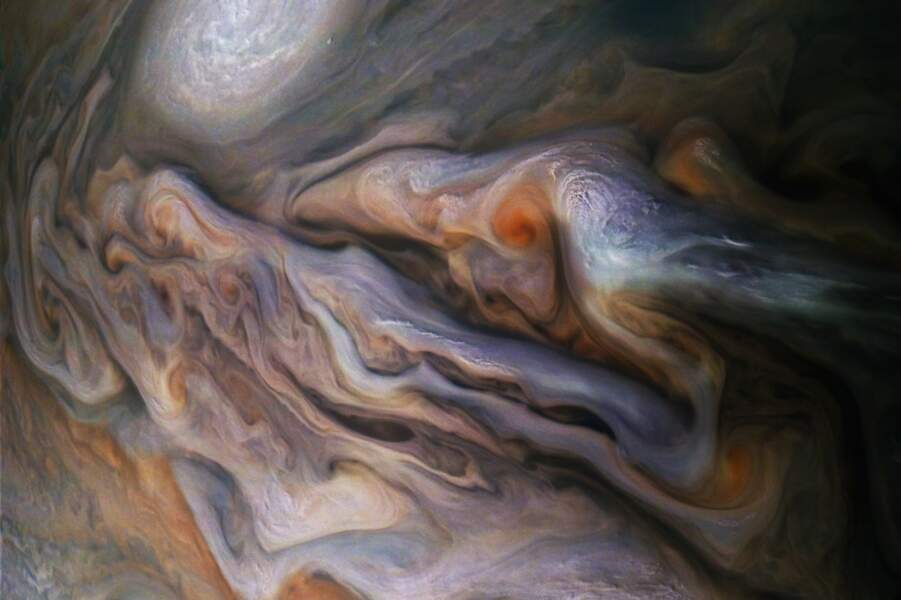 Les détails incroyables de la planète Jupiter.