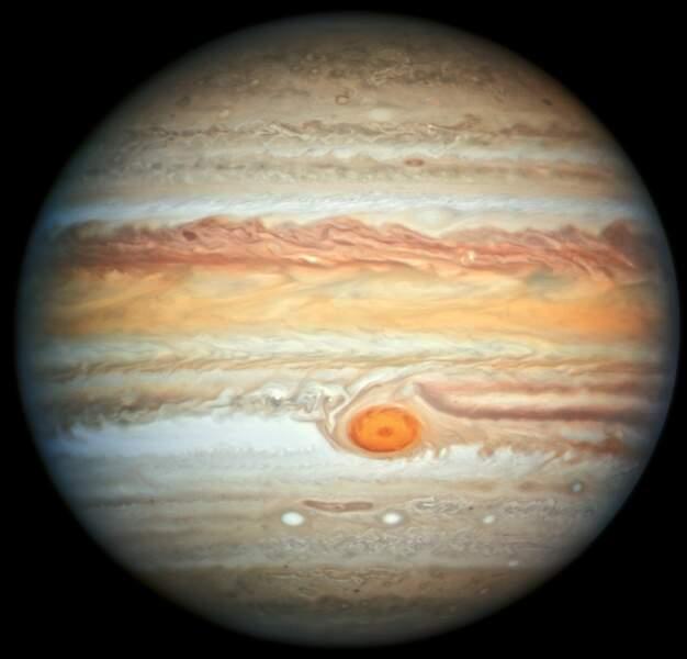 La planète Jupiter vue en entier