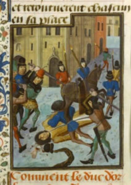 23 novembre 1407 : le duc d'Orléans dépecé sur la voie publique
